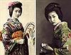 Ngỡ ngàng với nhan sắc thuần khiết của geisha 100 năm trước