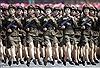 Nữ binh Triều Tiên không cần chân dài