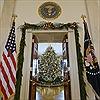 Nhà Trắng ngập tràn không khí Giáng sinh