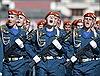Màn diễu binh đẹp mắt của quân đội Nga trên Quảng trường Đỏ