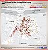 Kobane  bị tàn phá nghiêm trọng vì giao tranh