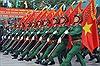 Luyện tập diễu binh kỷ niệm 40 năm Giải phóng miền Nam