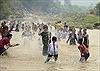 Lễ hội té nước - cầu mưa của người Lào ở Na Sang