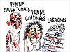 Báo Charlie Hebdo vẽ tranh gây sốc về vụ động đất Italy