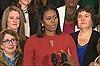 Bà Obama rớm lệ nói lời chia tay