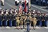 Diễu binh rầm rộ mừng Quốc khánh Pháp