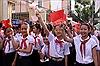 Náo nức ngày hội toàn dân đưa trẻ đến trường
