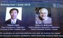 Nobel Vật Lý 2015 vinh danh khoa học gia Nhật Bản và Canada
