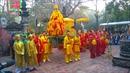 Hội Gióng đền Sóc Sơn tưng bừng khai hội