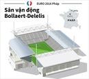 Sân vận động Bollaert-Delelis, nơi tổ chức EURO 2016