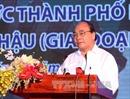 Thủ tướng dự lễ khởi công một số công trình quan trọng tại TP Hồ Chí Minh