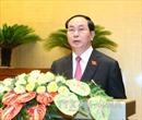 Tin tưởng Chủ tịch nước hoàn thành xuất sắc nhiệm vụ được giao