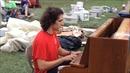 Tiếng piano vang lên ở vùng lũ bang Louisiana