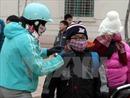 Không khí lạnh tăng cường tại các tỉnh miền Bắc