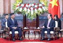 Chủ tịch nước tiếp Bộ trưởng Bộ Nội vụ Myanmar