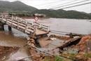 Mưa lũ làm sập bờ Nam cầu Vĩnh Hy, Ninh Thuận chia cắt 600 hộ dân