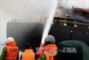 Bà Rịa-Vũng Tàu: Cháy tàu chở hơn 4.600 tấn ngô