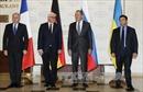 """Đức, Pháp và Nga thúc đẩy giải quyết vấn đề Ukraine qua nhóm """"Bộ tứ Normandy"""""""