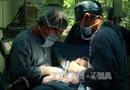 Phẫu thuật cắt bỏ thành công khối bướu hiếm ở trẻ sơ sinh
