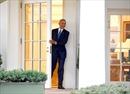 Hình ảnh Tổng thống Obama lần cuối rời khỏi Phòng Bầu dục