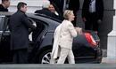 Bà Clinton, ông Bush rạng rỡ xuất hiện tại lễ nhậm chức của ông Trump