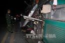 Nổ xe khách kinh hoàng tại Bắc Ninh, ít nhất 2 người tử vong