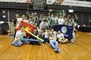 Học sinh Hà Nội-Amsterdam thi đấu ấn tượng trên đấu trường robot quốc tế