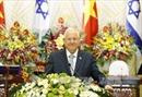 Tổng thống Israel kết thúc tốt đẹp chuyến thăm Việt Nam