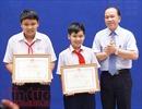 Hai học sinh bắt trộm được Bộ trưởng Bộ Giáo dục và Đào tạo tặng bằng khen