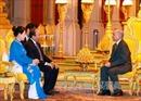 Thủ tướng Nguyễn Xuân Phúc yết kiến Quốc vương Campuchia Norodom Sihamoni