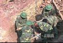 Phát hiện quả bom nặng gần 240kg khi đánh cá trên sông Hồng