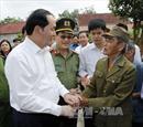 Chủ tịch nước thăm xã Nghĩa Đồng, huyện Tân Kỳ, Nghệ An
