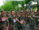 1.500 thanh thiếu niên hào hứng chạy việt dã mừng ngày giải phóng