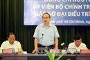Bí thư Thành ủy Nguyễn Thiện Nhân nêu '4 giảm' đối với TP Hồ Chí Minh