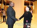 Chủ tịch Quốc hội Nguyễn Thị Kim Ngân hội đàm với Chủ tịch Thượng viện Cộng hòa Haiti