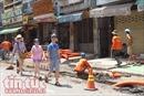 'Phố Tây' Bùi Viện đang tất bật thi công để kịp ngày khai trương