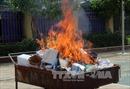 Sơn La tiêu hủy hơn 20 kg ma túy tang vật vụ án