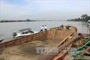 Thu giữ hơn 10 thuyền thác cát trái phép trên sông Đồng Nai