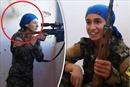 Đấu súng tại Raqqa: Đạn bay sượt đầu, nữ chiến binh bắn tỉa vẫn cười tươi