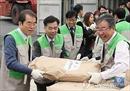 Hàng ngàn tấn bột mì Nga tới Triều Tiên cứu đói