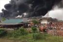 Cháy Nhà máy gạch Thạch Bàn tại Bắc Giang