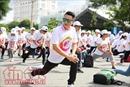 Trên 400 người tham gia chạy bộ tại ngày hội 'Yêu lá gan của bạn'