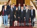 Thủ tướng tiếp Đại sứ Vương quốc Bỉ, Liên minh châu Âu và Đại biện lâm thời CHLB Đức tại Việt Nam