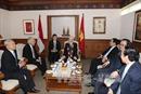 Tổng Bí thư Nguyễn Phú Trọng hội kiến với Chủ tịch Hội đồng Đại biểu nhân dân Indonesia