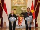 Tổng Bí thư Nguyễn Phú Trọng hội đàm với Tổng thống Indonesia Joko Widodo