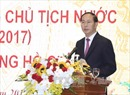 Chủ tịch nước Trần Đại Quang dự kỷ niệm 25 năm tái lập Văn phòng Chủ tịch nước