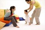 Trẻ chậm biết đi không ảnh hưởng đến phát triển trí tuệ