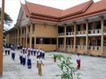Hỗ trợ cho con em đồng bào Khmer đến trường