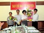 Triển khai thỏa thuận phối hợp thông tin giữa TTXVN và các ban chỉ đạo Tây Bắc, Tây Nguyên, Tây Nam Bộ