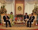 Tổng Bí thư Nguyễn Phú Trọng hội kiến Chủ tịch Quốc hội, Chủ tịch Thượng viện Thái Lan